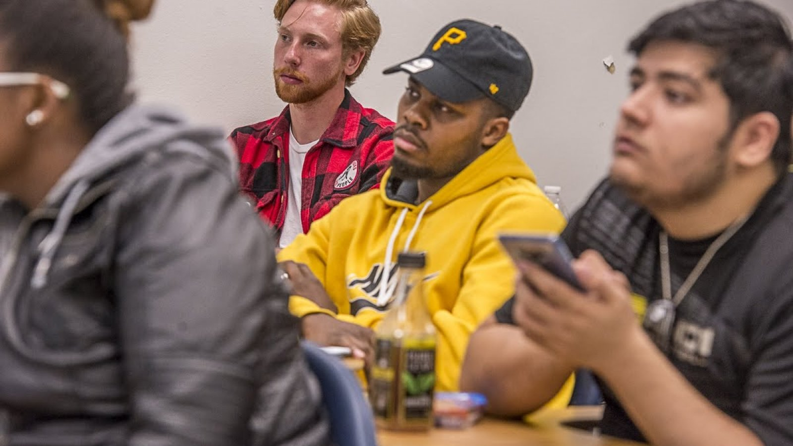 Students in Thomas Nelson class