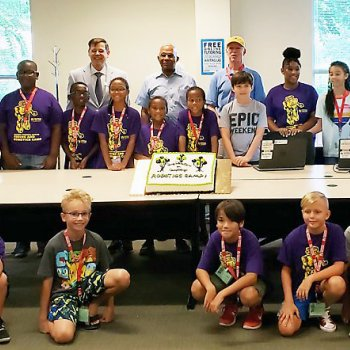 Image for Annual Robotics Camp a Success