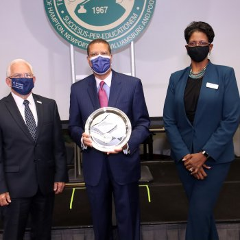 Image for Fourth President, Hampton School District Honored