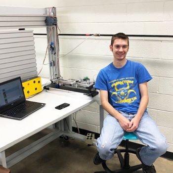 Image for Success for Pair of Mechatronics Students