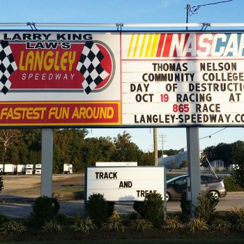 Image for Big Day for Thomas Nelson at Langley Speedway