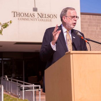 Image for Thomas Nelson Community College Announces the Retirement of President John T. Dever