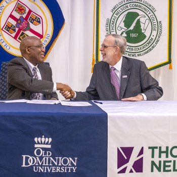 Image for Thomas Nelson and ODU Create Agreement to Advance Technical Workforce