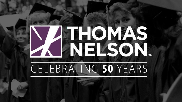 Thomas Nelson, celebrating 50 years
