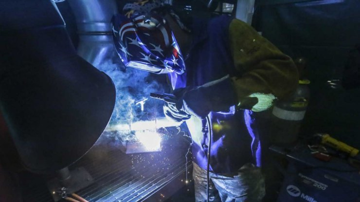 New Veterans Marine Welder Training Program