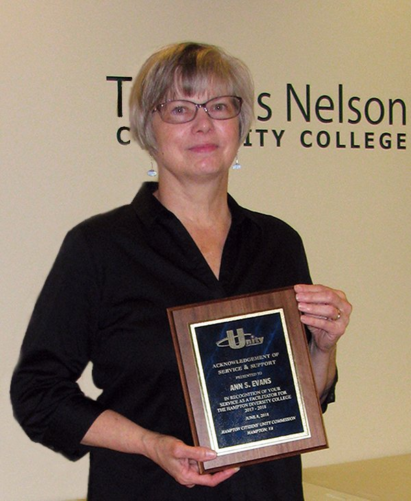 Image for Thomas Nelson Educator Recognized by Local Citizens' Unity Commission