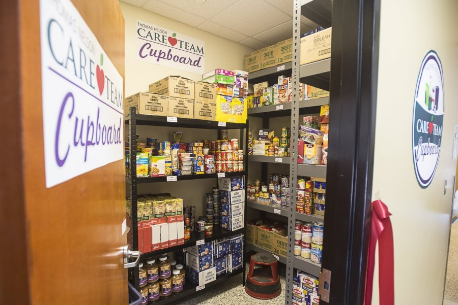 Image for Campus Food Pantries Highlighted in Local News