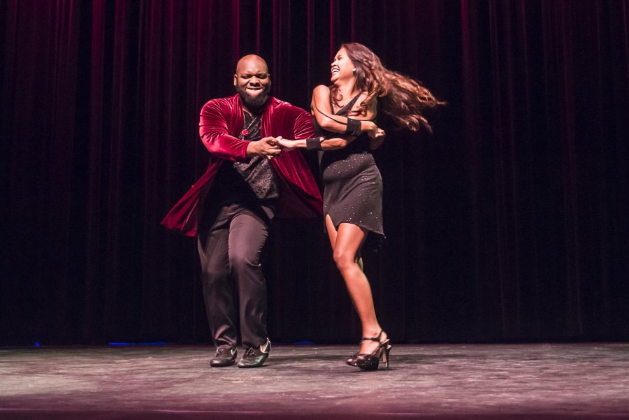 Image for College's 'Dancing with Stars' a Big Hit