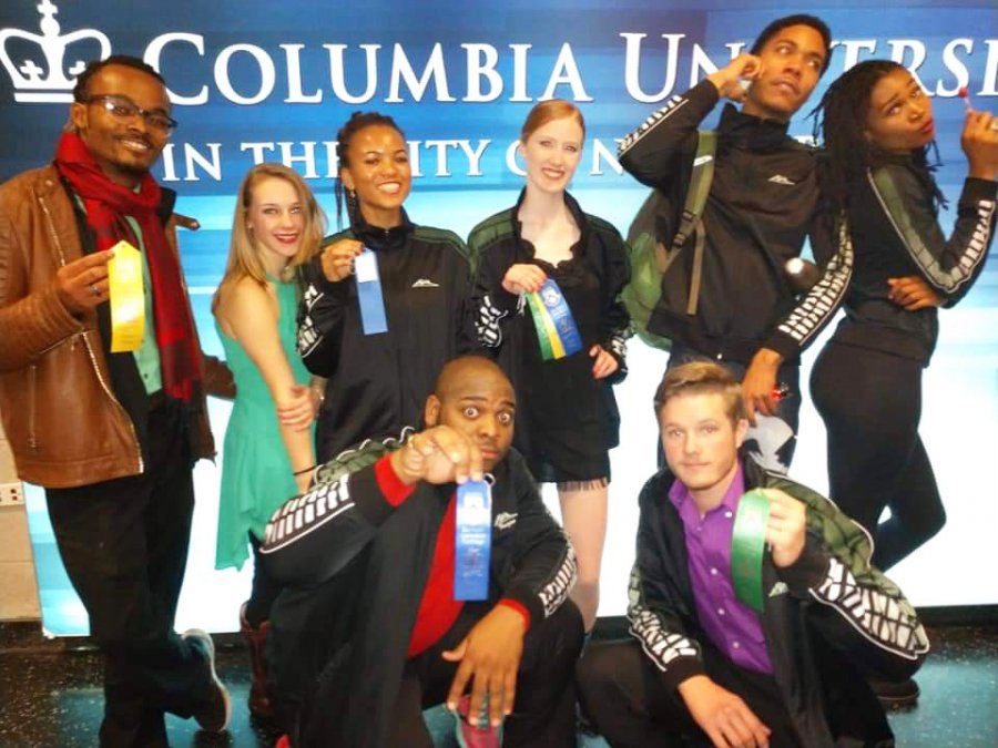Image for Thomas Nelson Dance Team a Hit in NYC