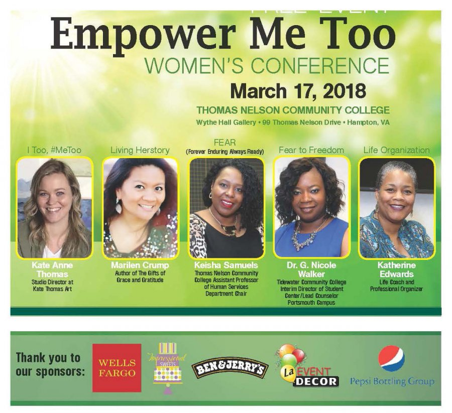 Image for  Women's History Month Event: Free Women's Conference March 17