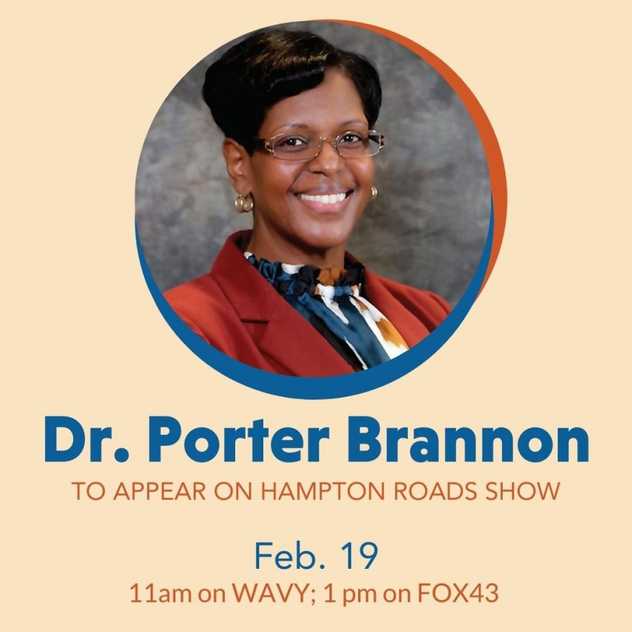 Image for Dr. Porter Brannon to appear on Hampton Roads Show
