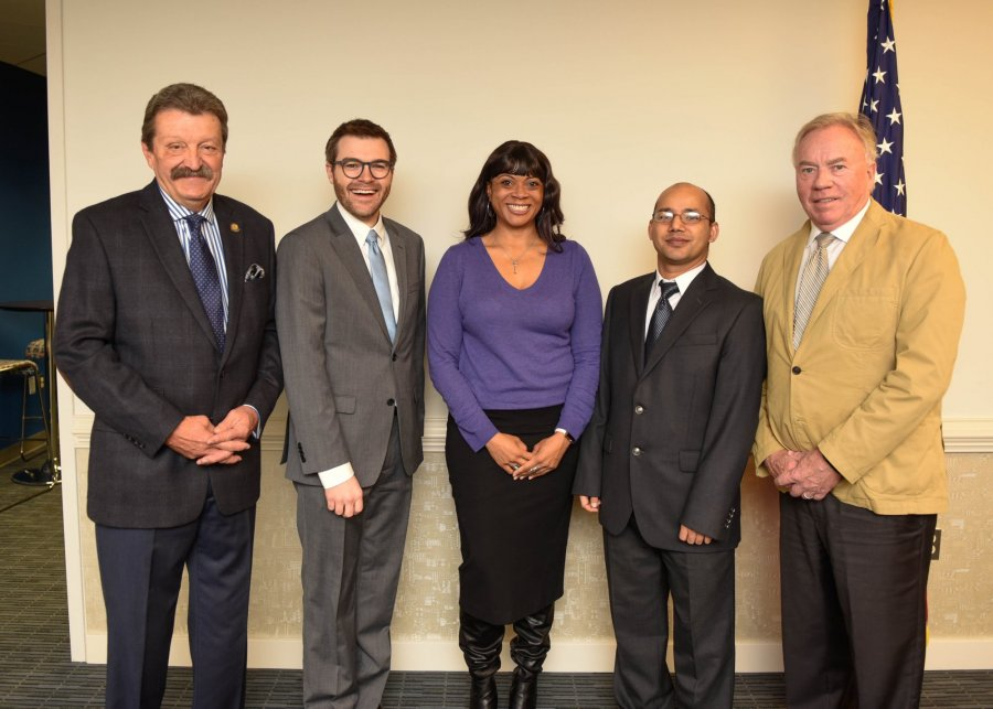 Image for Jenkins, Sundblad Acknowledged at State Board's November Meeting as 2018 Chancellor's Faculty Fellows