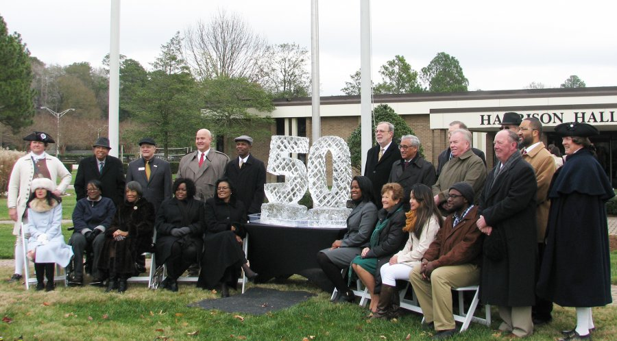 Image for Thomas Nelson's  Cornerstone Ceremony Closed 2017 Portion of Ongoing 50th Anniversary Festivities