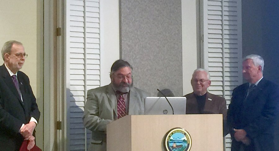 Image for President Recognized by Poquoson City Council