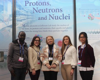 Image for Professor, Students Attended Conferences for Undergraduate Women in Physics