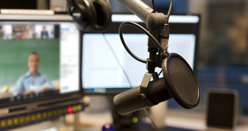 Image for Pop-up Podcast Studio Open on Campus