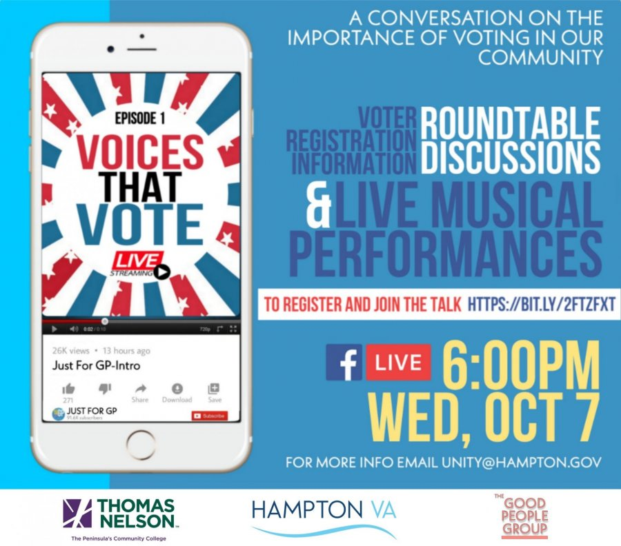 Image for Social Justice & Societal Change Committee Partners with Hampton