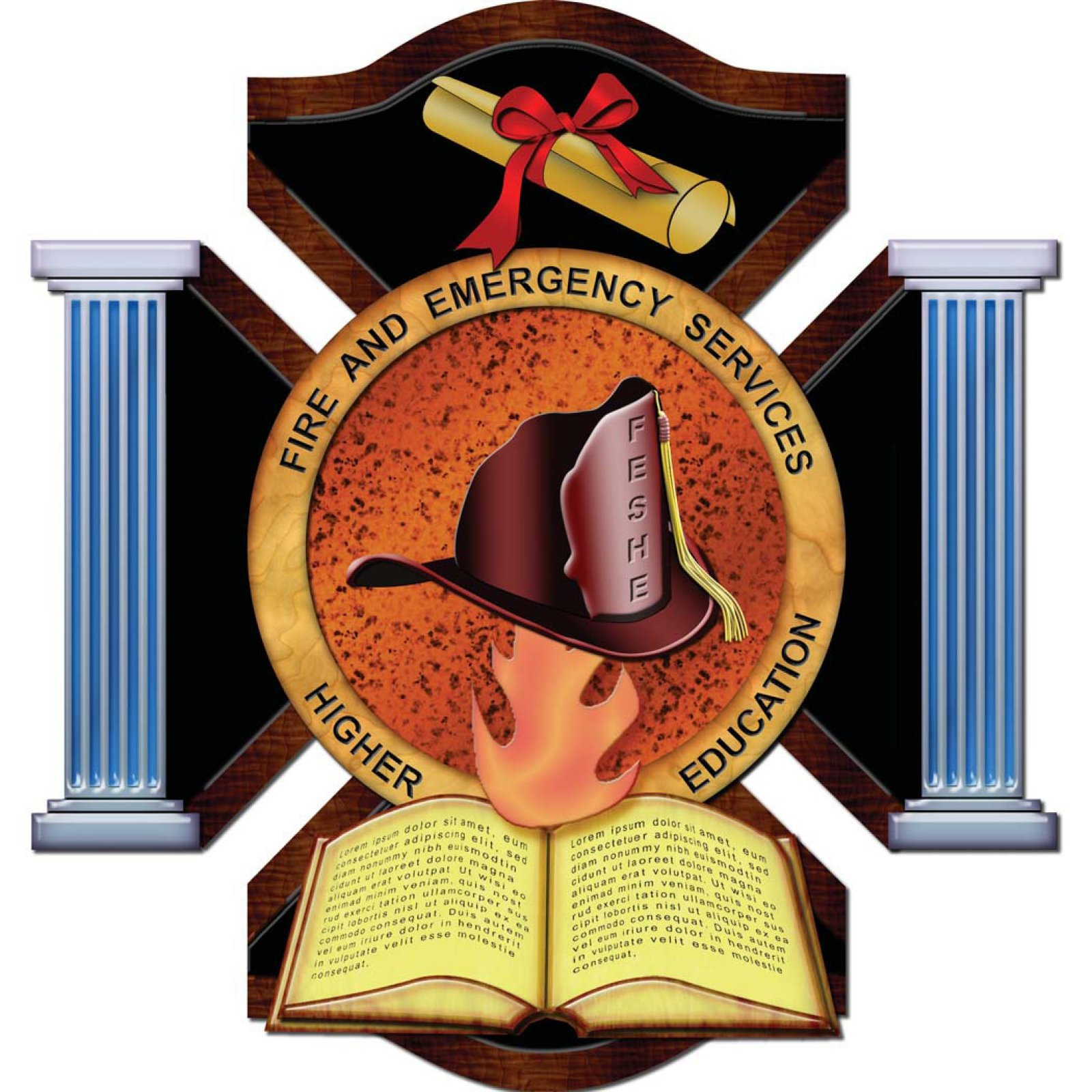USFA-NFA Fire and Emergency Services Higher Education Logo